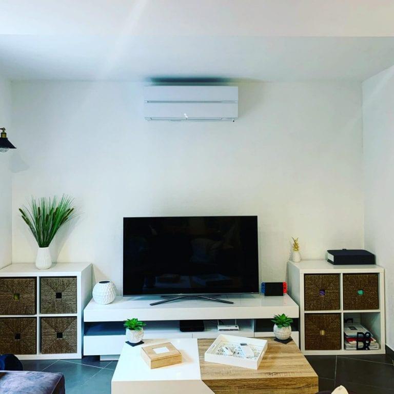 Honore Plomberie Énergies Toulon Bandol Plomberie Climatisation Chauffage Pompe à Chaleur installation climatisation blanche réalisation client